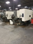 2002 2-TOYODA FA-450-III CNC HORIZONTALS W/ 10 PALLET LINEAR FMS SYSTEM